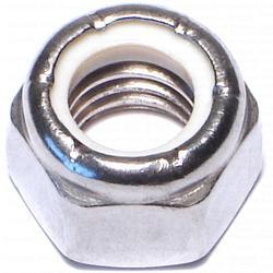 "Grip Fast 7/16""-14 Nyln Lock Nut Stainless Steel - 5 pcs/box"