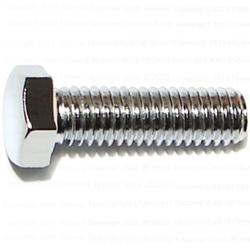 "3/8""-16 x 1-1/4"" Hex Cap Screws - Grade 5 Chrome - 1 pcs."