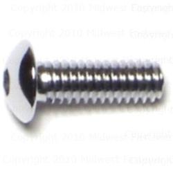 "8-32 x 1/2"" Button Head Socket Cap Screws - 1 pcs."