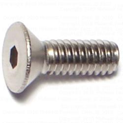 8-32 x 1/2 Flat Socket Cap Screws - Stainless - 2 pcs/box
