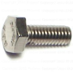 4mm-0.70 x 10mm Metric Hex Cap Screws - 15 pcs/box