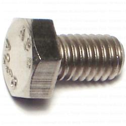 6mm-1.0 x 10mm Hex Cap Screws - Stainless - 1 pcs/box