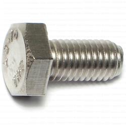 10mm-1.5 x 20mm Hex Cap Screws - Stainless - 1 pcs/box