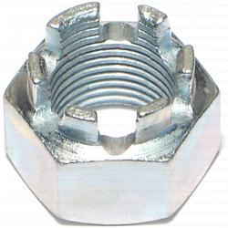"3/4""-16 Castle Hex Nuts - 1 pcs."