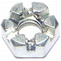 """1/4""""-20 Slotted Hex Nut - 1 pcs."""