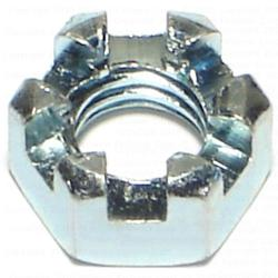 """3/8""""-16 Slotted Hex Nut - 1 pcs."""