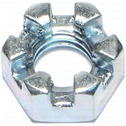 "7/16""-14 Slotted Hex Nut - 1 pcs."