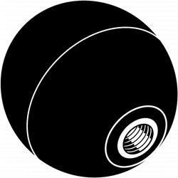 "8mm-1.25 x 1-1/2"" Ball Knob - 4 pcs/box"