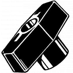 """5/16""""-18 x 2-1/2"""" Thru-Hole Bar Knob - 3 pcs/box"""