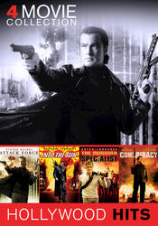 Hollywood Hits Seagal/Lundgren/Kilmer 4-Film DVD Collection