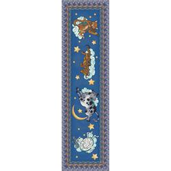 "Milliken Hey Diddle Area Rug 2'1"" x 7'8"""