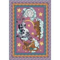 "Milliken Hey Diddle Area Rug 2'8"" x 3'10"""