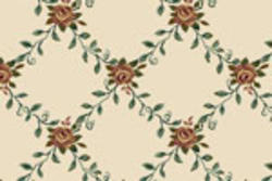 Milliken Rose Garden Plush Carpet 13ft 6in Wide