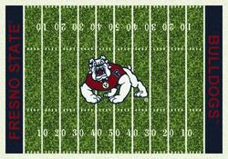 "Milliken College Home Field Area Rug 5'4"" x 7'8"""