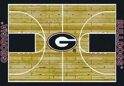 "Milliken College Basketball Court Area Rug 3'10"" x 5'4"""