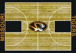 "Milliken College Basketball Court Area Rug 7'8"" x 10'9"""