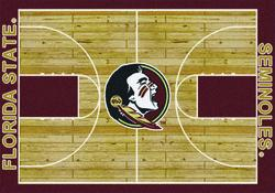 "Milliken College Basketball Court Area Rug 7'8"" x 10'9"""