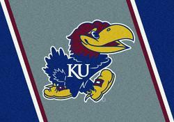 """Milliken College Team Spirit Logo Area Rug 7'8"""" x 10'9"""""""