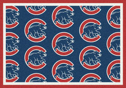 "Milliken MLB Logo Repeat Area Rug 10'9"" x 13'2"""
