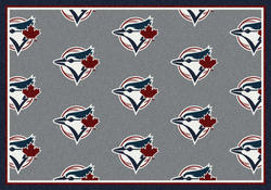 "Milliken MLB Logo Repeat Area Rug 5'4"" x 7'8"""