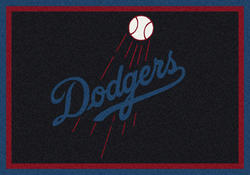 "Milliken MLB Team Spirit Logo Area Rug 5'4"" x 7'8"""