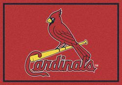 "Milliken MLB Team Spirit Logo Area Rug 10'9"" x 13'2"""