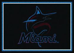 "Milliken MLB Team Spirit Logo Area Rug 3'10"" x 5'4"""