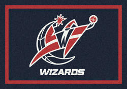 "Milliken NBA Team Spirit Logo Area Rug 10'9"" x 13'2"""