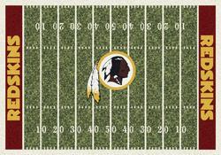"Milliken NFL Home Field Area Rug 7'8"" x 10'9"""