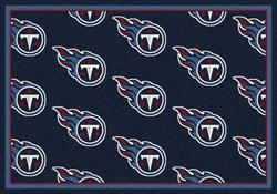 """Milliken NFL Logo Repeat Area Rug 10'9"""" x 13'2"""""""