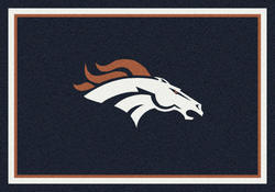 "Milliken NFL Team Spirit Logo Area Rug 7'8"" x 10'9"""