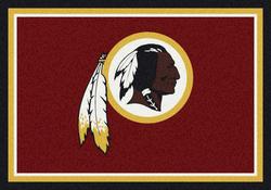 "Milliken NFL Team Spirit Logo Area Rug 10'9"" x 13'2"""