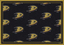 "Milliken NHL Logo Repeat Area Rug 3'10"" x 5'4"""