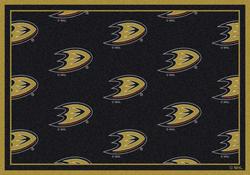 "Milliken NHL Logo Repeat Area Rug 10'9"" x 13'2"""