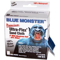 "2"" x 15' Blue Monster Emery Cloth"