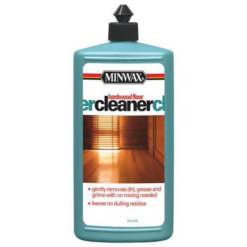 Minwax hardwood floor cleaner 32 oz at menards for Hardwood floors menards