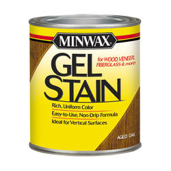 Minwax Aged Oak Gel Stain - 1/2 pt