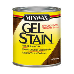 Minwax Hickory Gel Stain - 1/2 pt