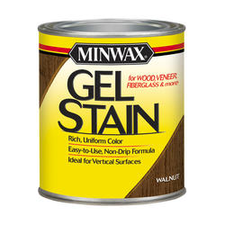 Minwax Walnut Gel Stain - 1/2 pt