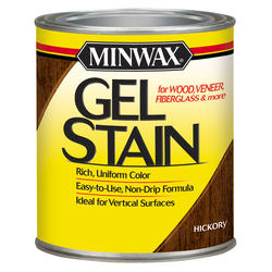 Minwax Hickory Gel Stain - 1 qt