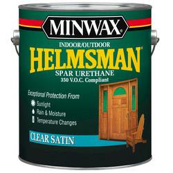 Minwax Helmsman Clear Satin 350-VOC Spar Urethane - 1 gal.