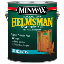 Minwax Helmsman Clear Satin Spar Urethane - 1 gal.