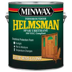 Minwax Helmsman Clear Semi-Gloss Spar Urethane - 1 gal.