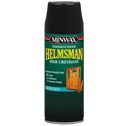 Minwax Helmsman Clear Satin Spar Urethane Aerosol