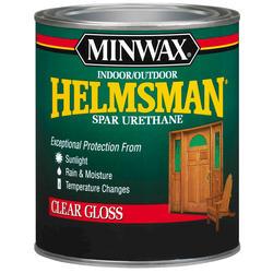 Minwax Helmsman Clear Gloss Spar Urethane - 1 qt