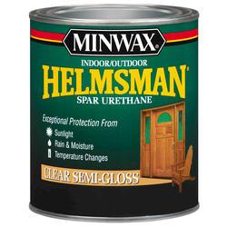 Minwax Helmsman Clear Semi-Gloss Spar Urethane - 1 qt