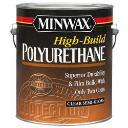 Minwax High-Build Clear Semi-Gloss Polyurethane - 1 gal.