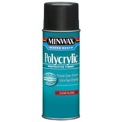 Minwax Polycrylic Clear Gloss Protective Finish Aerosol