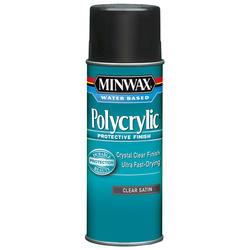 Minwax Polycrylic Clear Satin Protective Finish Aerosol