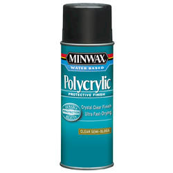 Minwax Polycrylic Clear Semi-Gloss Protective Finish Aerosol